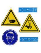 Bezpečnostné tabuľky a značenia
